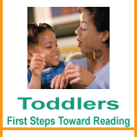 Toddlers: First steps toward reading